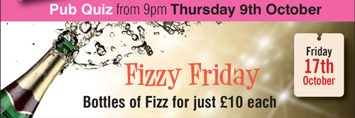 Pub Quiz & Fizzy Friday