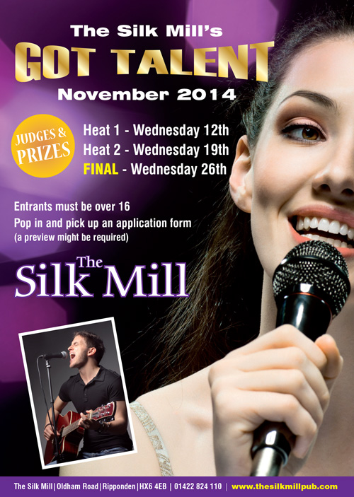 The Silk Mill's Got Talent